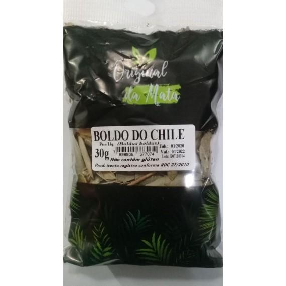 Chá de Boldo do Chile 30g - Original da Mata