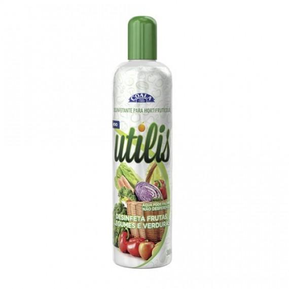 Desinfetante Utilis para Frutas, Legunes e Verduras 300ml - Coala