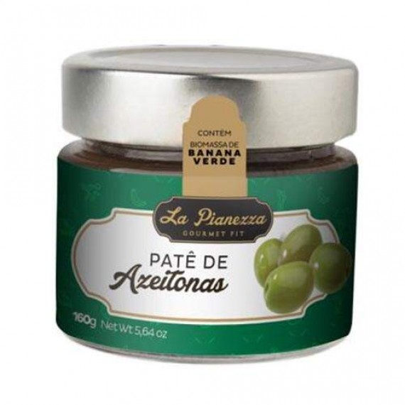 Patê de Azeitona Verde 160g - La Pianezza
