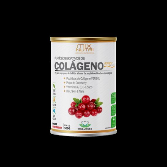 Colágeno Verisol + Vitaminas Sabor Cranberry 300g - Mix Nutri