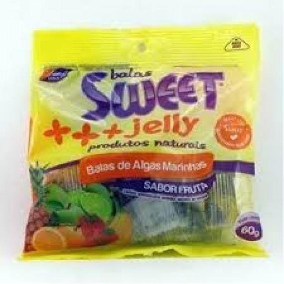Balas de Algas Marinhas Sabor Frutas 60g - Sweet Jelly