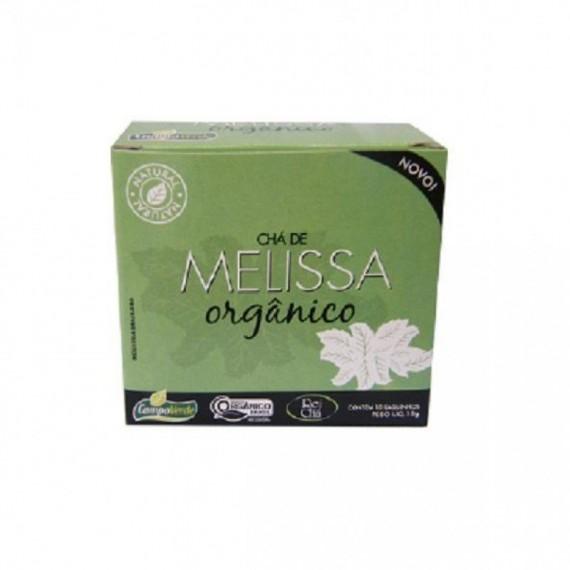 Cha de Melissa Orgânico c/ 10 Saches 10g - Campo Verde