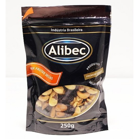 Mix Frutas Secas 250g - Alibec