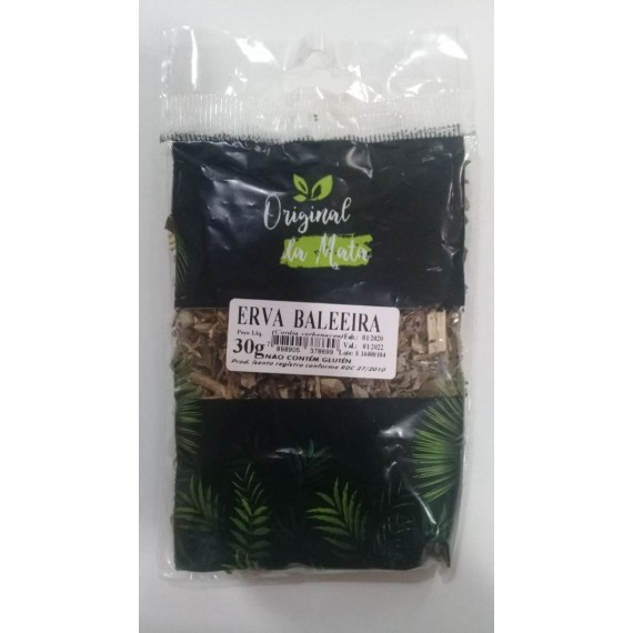 Chá Erva Baleeira 30g - Original da Mata
