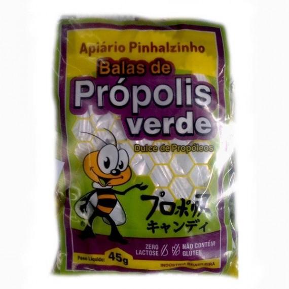 Balas de Propolis Verde 45g - Pinhalzinho