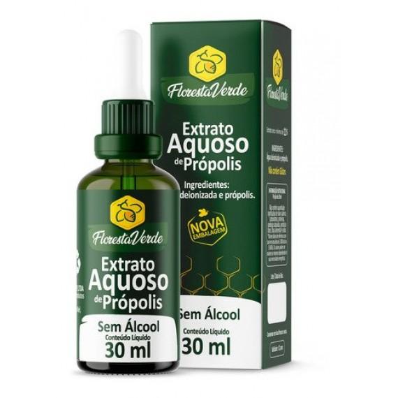 Extrato de Própolis Aquoso 11% 30 ml - Floresta Verde