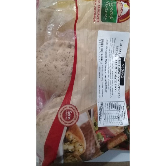 Pastel Berinjela c/ Tomate Seco 760g - Malmac