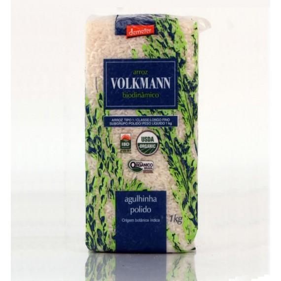 Arroz Agulinha Polido Orgânico Biodinâmico 1kg - Volkmann