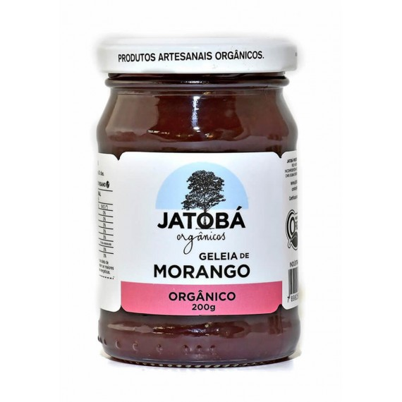 Geleia de Morango Orgânica 220g - Jatoba