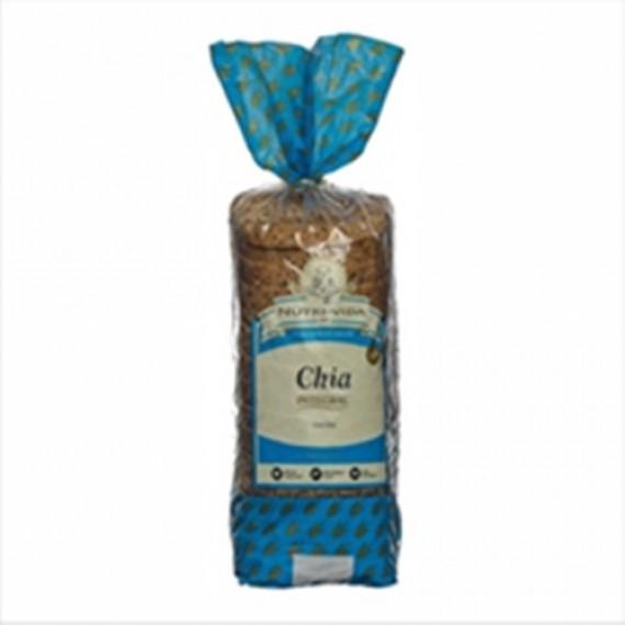 Pão Chia Vegano 400g - Nutri-Vida