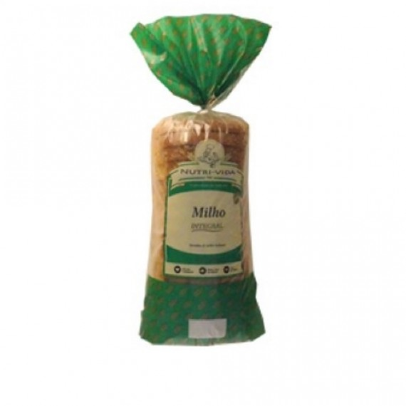 Pão Milho Vegano 400g - Nutri-Vida