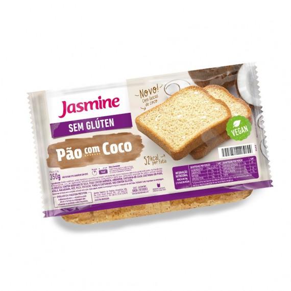 Pão sem Gluten c/ Coco 350g - Jasmine