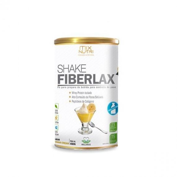 Shake Fiberlax Banana S/Lactose 450g - Mix Nutri